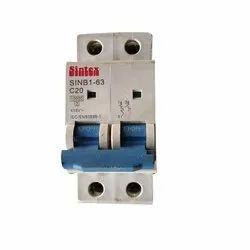 Modular 415V Sintex Electrical Circuit Breaker, Model Name/Number: SINB1-63