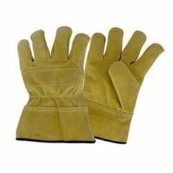 Full Fingered Leather Welding Gloves, 6-10 Inches