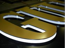 SS Steel Acrylic LED Letters