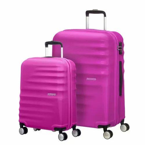 American Tourister Pink Wavebreaker 2 Pc Set Bags N Luggage Id 20951187130