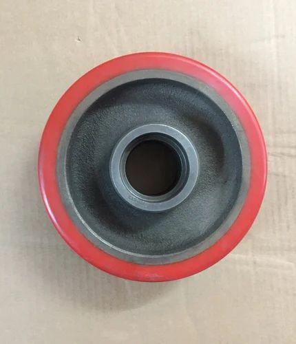 Red PU Steering Wheel