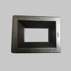 Black Pvc Mcb Cap, For Electrical Panel Bord, Size: 100amp