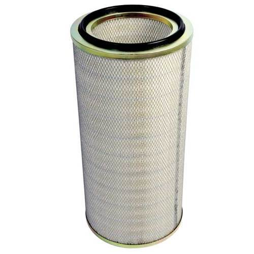 Mild Steel Cylindrical Dust Filter Cartridge for Industrial