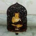 Polished Wooden Buddha Statue