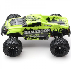 Green Ramasoon Monster 1:9 Scale Brushed