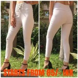Ladies Pearl Jeggings