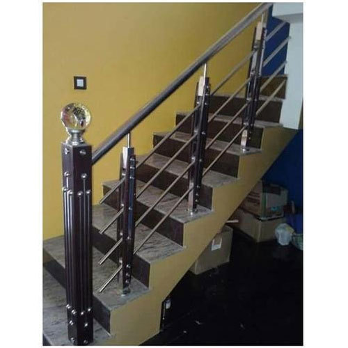 Bar Designer Stainless Steel Staircase, Rs 1400 /running ...