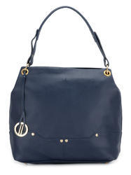 Yelloe Spacious Blue Synthetic Leather Shoulder Bag with com
