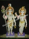 Shiv Parvati Marble sculpture