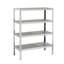 4-5 ft Chrome Coated Stainless Steel 4 Rack, for Home