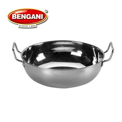 Stainless Steel Sandwich Bottom Kadhai, for Home