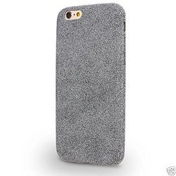 Classic iPhone7 Premium Quality Velvet Back Cover -Grey