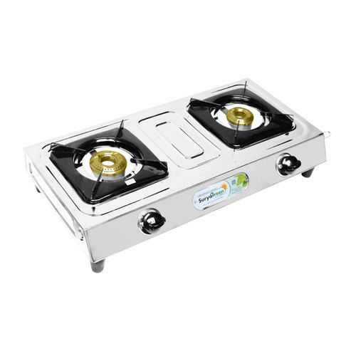 2 Burner Classic Gas Stove, for Kitchen