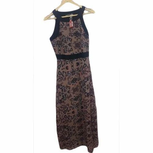 2b6b09b0b8ba Cotton Sleeveless Printed Designer Midi Dress