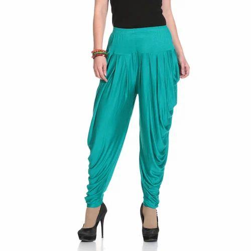 bf182eaf2 Free Size Rama Green Dhoti Pants For Women (Ethnic Bottoms), Rs 229 ...