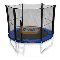Trampoline 8 Ft. ( With Safety Net & Ladder)