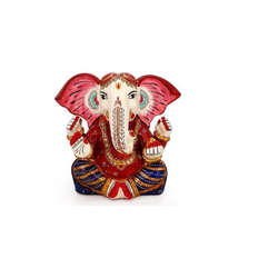 Meenakari Ganesha Idol