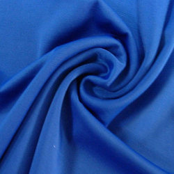 Blue Plain Lycra Fabric, Gsm: 110 - 300