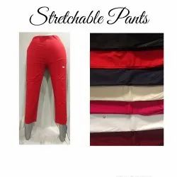 Stretchable Cotton Pants