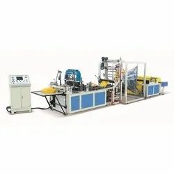 700-Fully Automatic Non Woven W-Cut & D-Cut Bags Making Machine