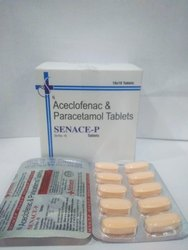 Serratiopeptidase, Paracetamol And Aceclofenac Tablet