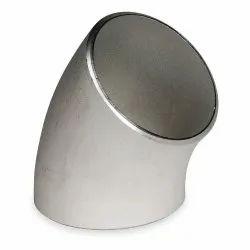 Stainless Steel 45 Deg Long Radius Elbow