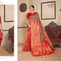 Latest Design Woven Silk Saree