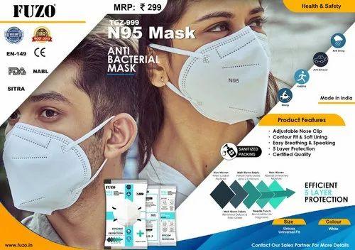 Fuzo N95 Anti Bacterial Mask