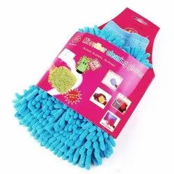 Microfiber Vehicle Washing Hand Glove, For Kitchen, Finger Type: Finger Less