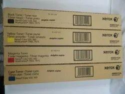 Genuine Xerox 550 CMYK Toner Cartridge Set