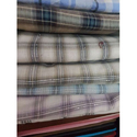 Checked Yarn Dyed Cotton Fabric