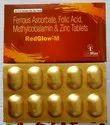 Ferrous Ascorbate 100 mg,Folic Acid 1.1 mg,Zinc 22.5 mg, Methylcobalamin 1500 mcg Tablet