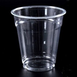 Plastic Transparent Disposable Glass