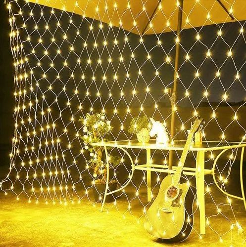 Led Net Mesh String Lights With 8