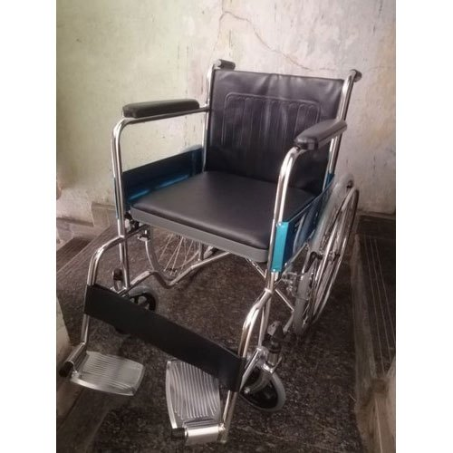 Hospital Stainless Steel Wheelchair