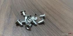 No. 3070 Mild Steel Eyelets Nickel