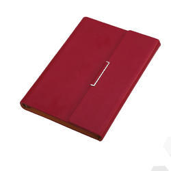 Red Big Notebook Diary