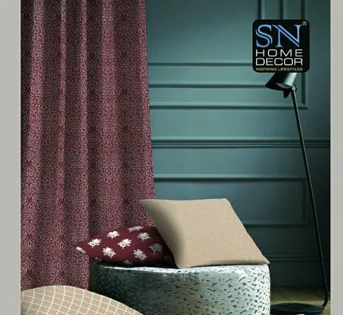 Polyster Multicolor Blackout Curtains Sn Home Decor Id 22431156055
