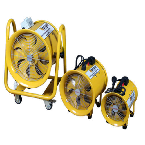 Steel Electric Portable Ventilation Fans, For Industrial ...