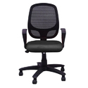 Black Medium Back Ergonomic Chair