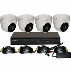 2 MP Hikvision Security HD CCTV Camera System, for Indoor, Outdoor