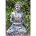 Knt Creations Silver Buddha Statue