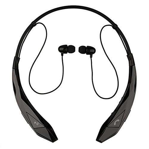 Black Neckband Bluetooth Earphone Rs 350 Piece Yes Mobile Accessories Id 17433866088