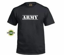 Black Army T- Shirt