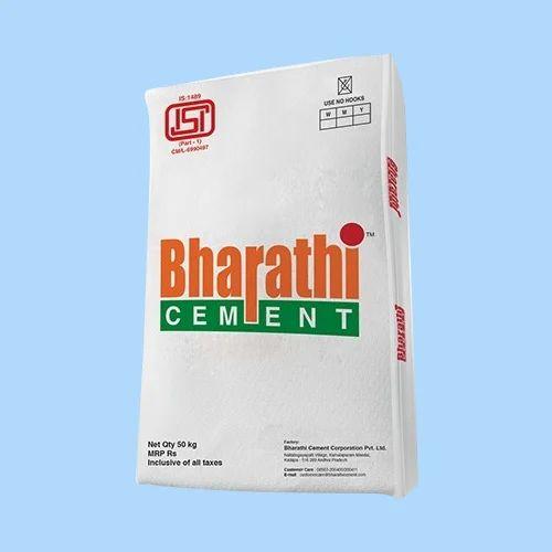 Bharathi Opc 53 Grade Cement 50 Kg