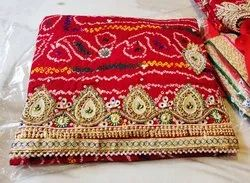 Rajasthani Patch Work Chunri