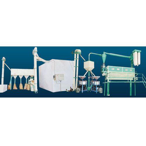Samay Mild Steel Mini Flour Mill Plant