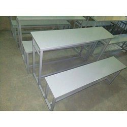 Metal Class Room Bench