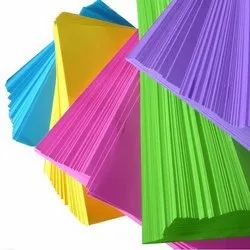 Colour Printing Paper, GSM: Less than 80, 500