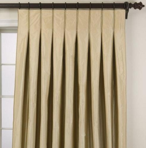 Nicewood Plain Box Pleat Curtain